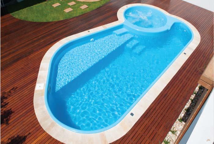 Construshop lazer piscina piscina de alvenaria piscina - Piscinas de fibra ...